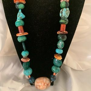Handmade necklace from Gallup , NM